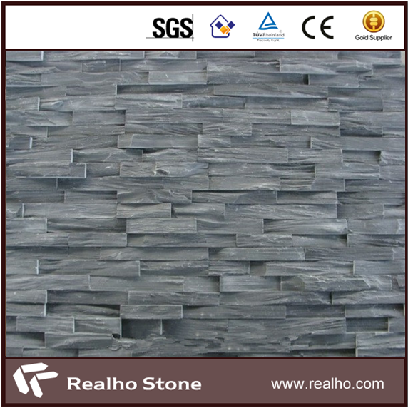 Chinese Hot Sale Natural Grey Slate Cultural Stone Wall Tile