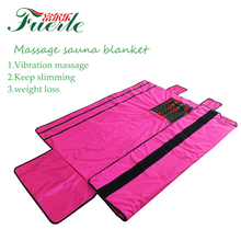 Far Infrared Electric beauty spa hot blanket slimming machine wholesale body wrap products