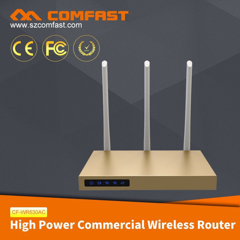 COMFAST New Arrival CF-WR630AC 750M Dual Frequency 3 Antennas 3PA Commercial Wireless Access <strong>Point</strong>/Configure Wifi Router