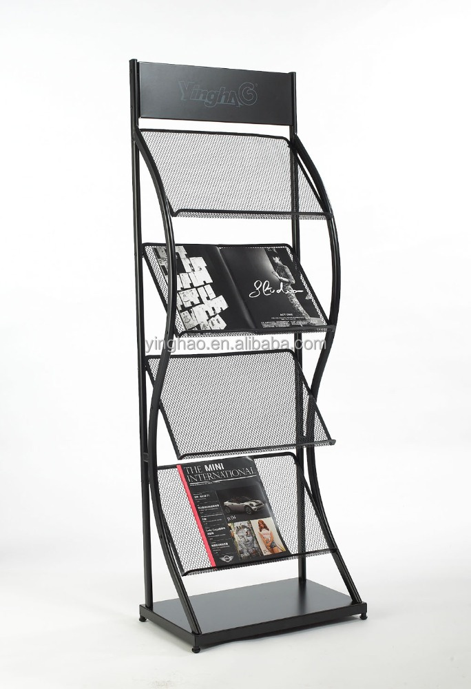 Commercial demountable metal display stand, small display stand metal