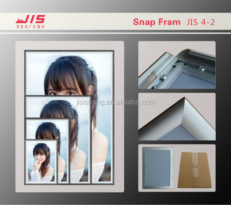 Right Angle Aluminum Photo Frame JIS4-2