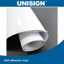 eco solvent glossy printable bubble free Self Adhesive Vinyl material decorative covering roll
