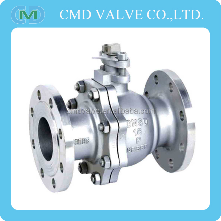 Stainless Steel JIS 10k Flange Ball Valve Price List