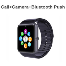 2017 T Card Wearable Android Smart Watch Smart Watch GT08 Cheap Price Of Smart Watch Phone With Blue-tooth