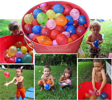111PCS Filled In 1 Minute Latex Magic Balloons Party Water Balloon Bomb For Summer Toys