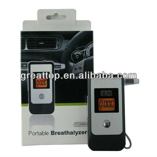 breath alcohol tester with print,led breath alcohol teste,alcohol content tester