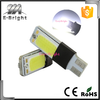 Super bright T10 COB 6W Can-bus Error Free Led Signal Lights Reading Lamps,canbus led w5w t10 194