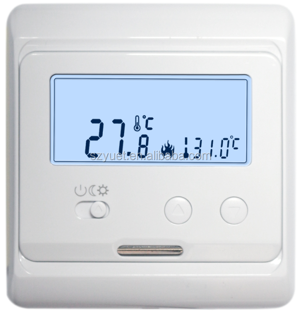 digital lcd display thermostat floor heating