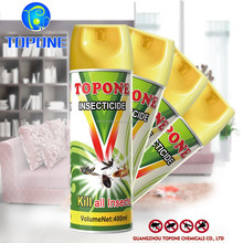 Topone Brand 400ml household pest control aerosol pesticide insecticide spray