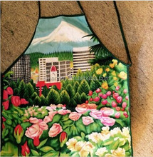 600D polyester Tote Garden Tools Carrying PAINTED Apron