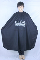 salon wear cape,TAFFETA fabric