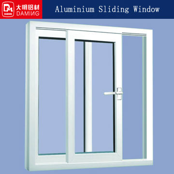 white colorful powder coated aluminum sliding windows sections frame manufacturers