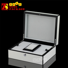 Luxury Lacquered wooden watch collection box for display