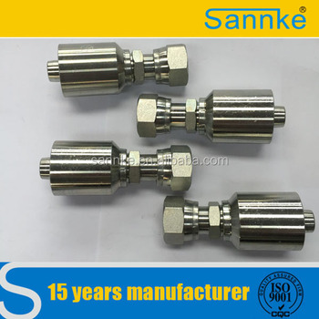 Stainless Steel 5/16 Swivel One Piece Type Hydraulic Hose Fittings