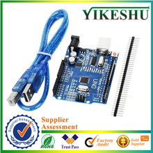 Original UNO R3, for Uno R3 Atmega328, Starter Kit, Development Board, ATMEGA16U2, Improved Version with USB Cable