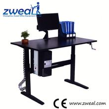 high quality cheap computer desk with cd rack factory wholesale