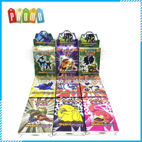 English Pokemon Cards with Pokemon Figures for Children