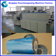 Automatic shrinking wrapping packing machine for thermal transfer ribbons
