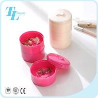 Small earring jewellery storage box travel jewelry organizer