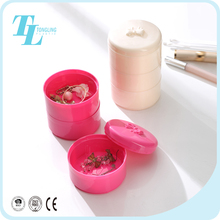 Small earring jewellery storage box travel jewelry organizer