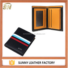 Good quality wholesale genuine wallet passport wallet leather for men