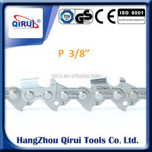 "Hot-sale Professional Quality 3/8LP"" With Bumper Drive Links Semi Chisel Chainsaw Chain"