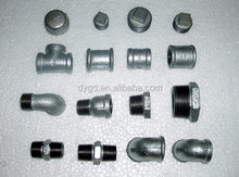 npt thread cast iron pipe fitting round end cap