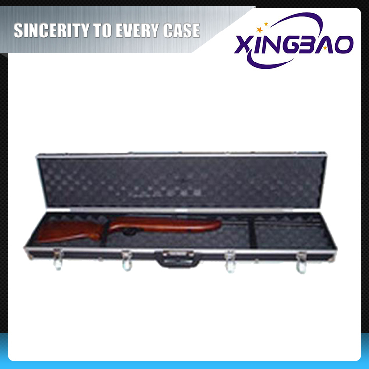 Gun case safe,military gun box with EVA and Foam inner,plastic gun case