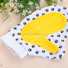 New arrival dog rubber massage pet mitt dog grooming glove brush