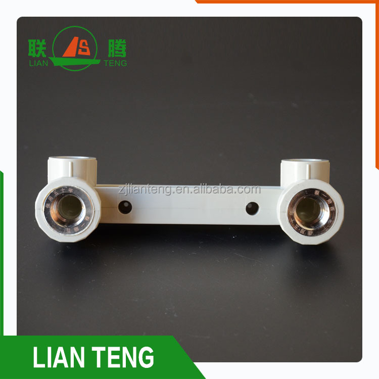 PPR pipe fittings Double Female Thread Elbow With tap connectors