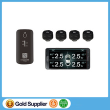 Smartphone Bluetooth APP Android/IOS system Tire Pressure Monitoring System (TPMS) for car with 4 External Sensors Tyre Safety