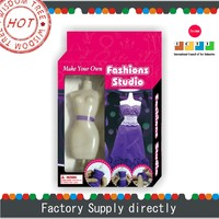 Make Your Own Doll Dress,Games for Girls Dress Up New, Paper Wedding Dress for Doll