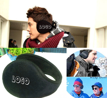 WD-1510-1 promotional ear warmers with imprint for sales promotion