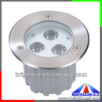 3W Round LED Inground Lights