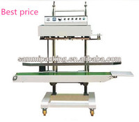 Paint Body Stainless Steel Body Heat Bag Vertical Continuous Band Sealer/Bag Heat Sealing Machine