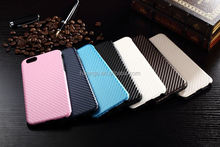 Luxury cell phone hot selling carbon fiber cell phone case stock