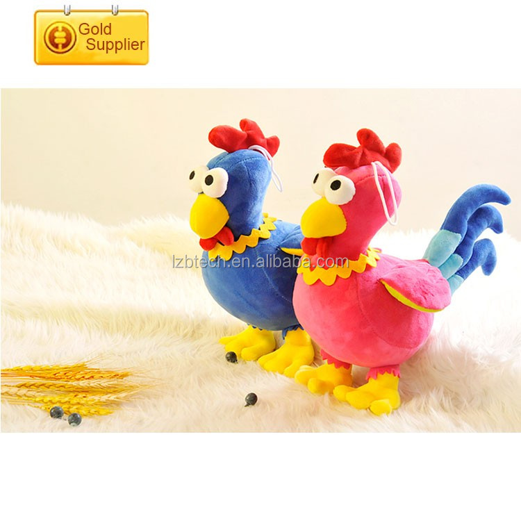 High quality Customized Plush Stuffed soft chicken PP Cotton Filled mini Chicken Animal Toy