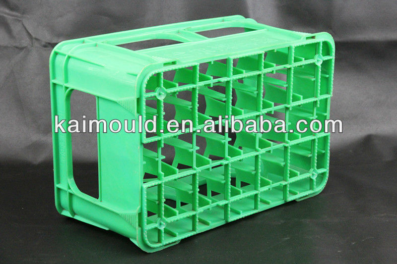 Plastic Milk Bottle Crate Mould