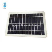 5.5V 6W flexible mini poly solar panel for mobile charger