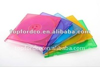 5.2mm slim cd case with 5 assorted color