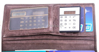 solar powered thin pocket credit card calculator, electric calculator lovely