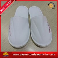 Low price cheap airplane travel slippers airline disposable eva hotel slipper