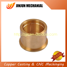 China manufacturer continuous cast sintered bronze oilless bushing