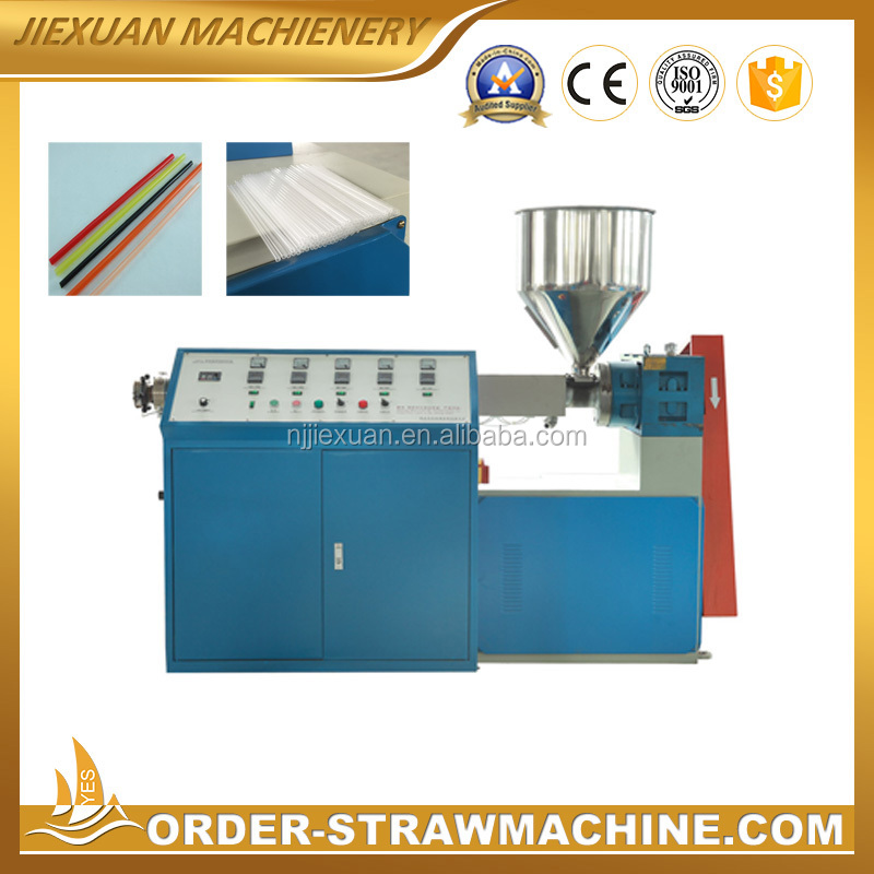 automatic machine for making drinking straw