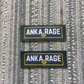 Custom high density damask WOVEN LABELS for garments