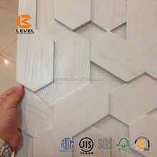 Building Material Textured MDF Wall Covering Panels 3D MDF Wall Panels Texture