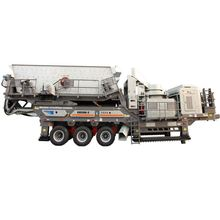 mobile crushing construction waste recycling plant for sale