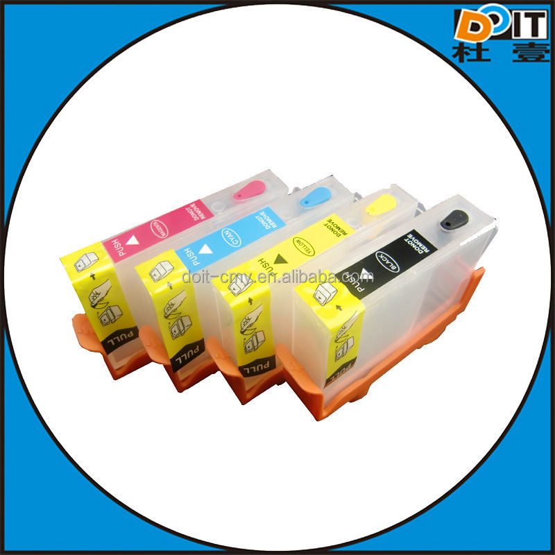 win-win business,Refillable Ink Cartridge for HP 655 685 670 Ink Cartridge with auto Reset Chip