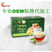 High Quality Organic Instant favored Ginger Tea with /Honey/Lemon/Brown Sugar