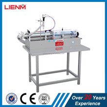 Single Head Liquid Semi-Automatic Filling Machine For Cream / Shampoo